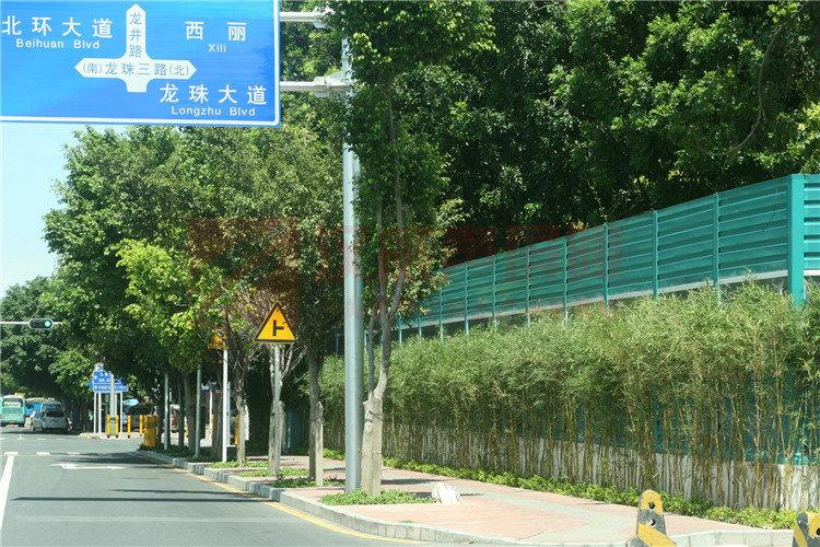 廣東佛山繞城高速窗式聲屏障
