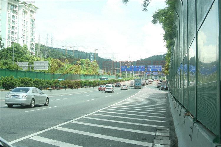 湖南繞城高速全封閉式聲屏障