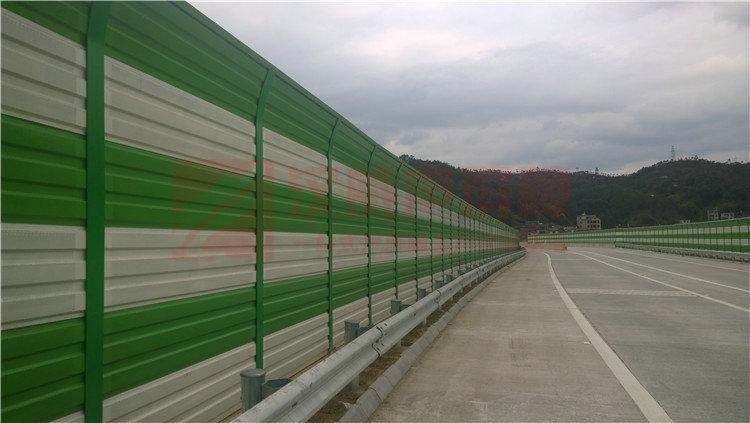 高速公路圓弧式隔音屏
