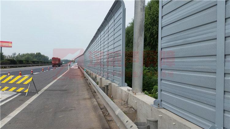 黑龍江綏化城市橋梁干涉型聲屏障