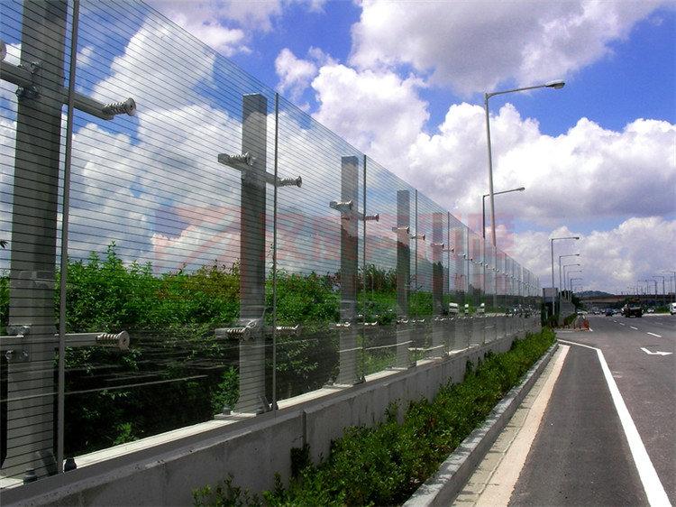 黑龍江綏化橋面復合型隔音屏