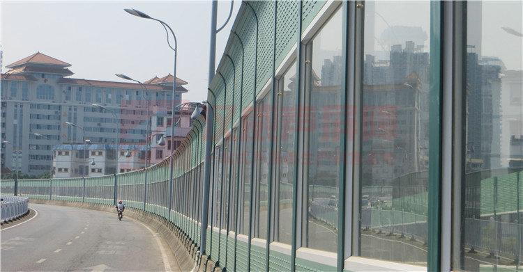 湖南繞城高速罩棚型聲屏障