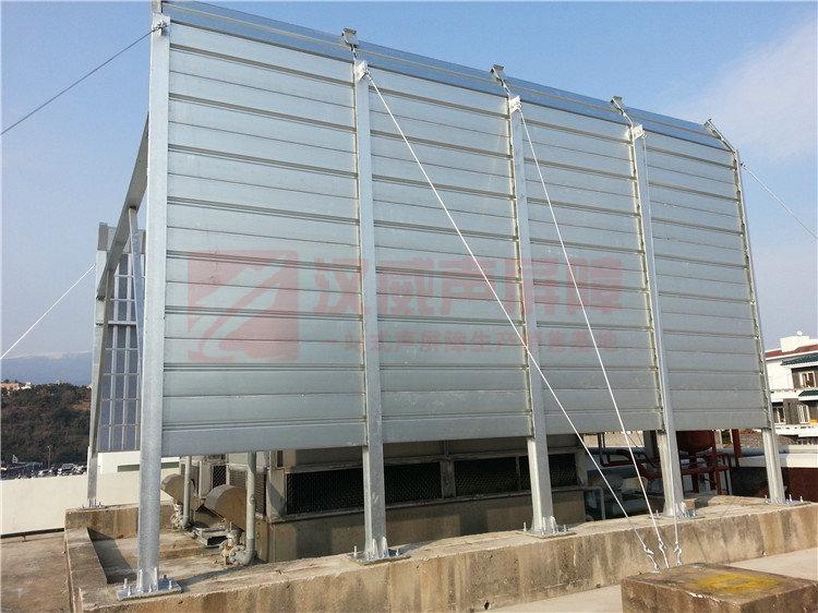 河南鶴壁高架橋梁整體式聲屏障