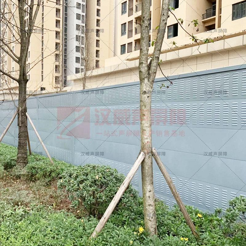 廣西城市高架直弧式隔音屏