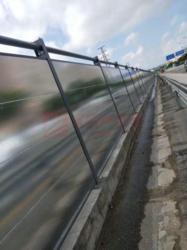 遼寧錦州城市高架擴展隔音屏