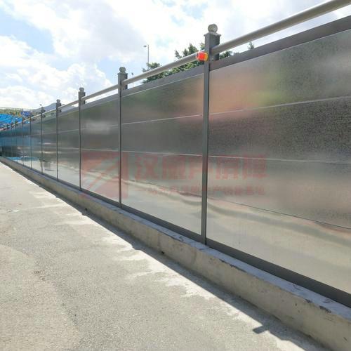 江蘇鎮江立體高架橋整體式聲屏障