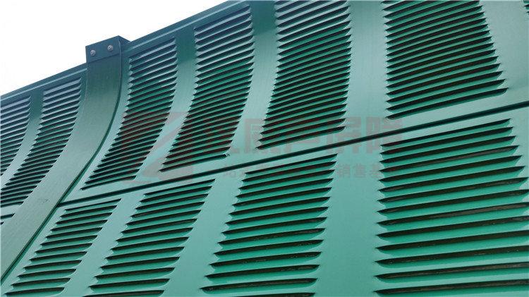 河南商丘城市橋梁帶消音筒隔音墻