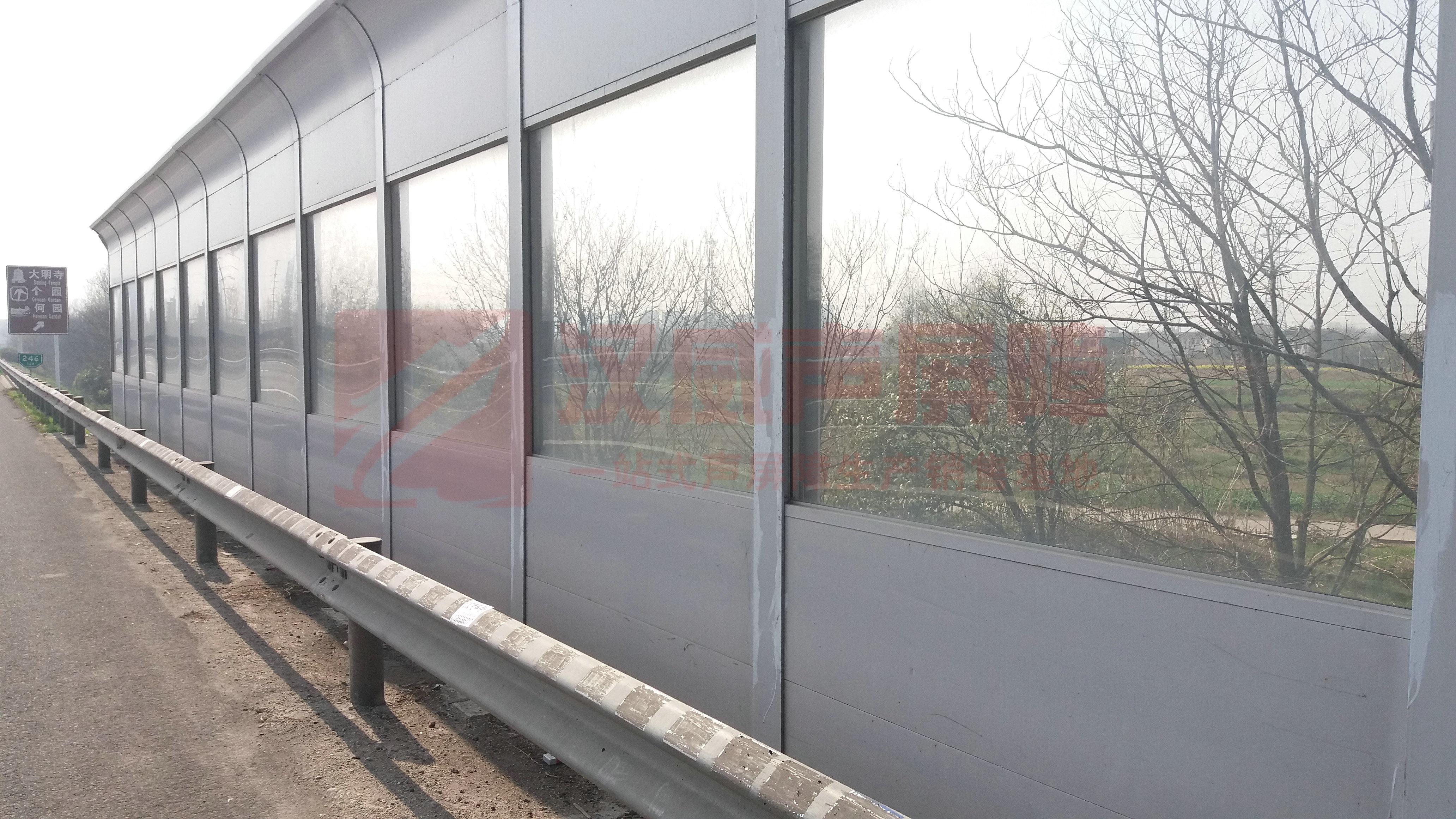 遼寧錦州高架橋梁百葉窗聲屏障