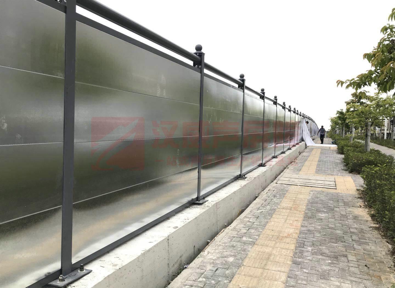 河南商丘路橋弧形聲屏障