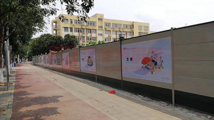 云南玉溪橋面景觀型隔音屏