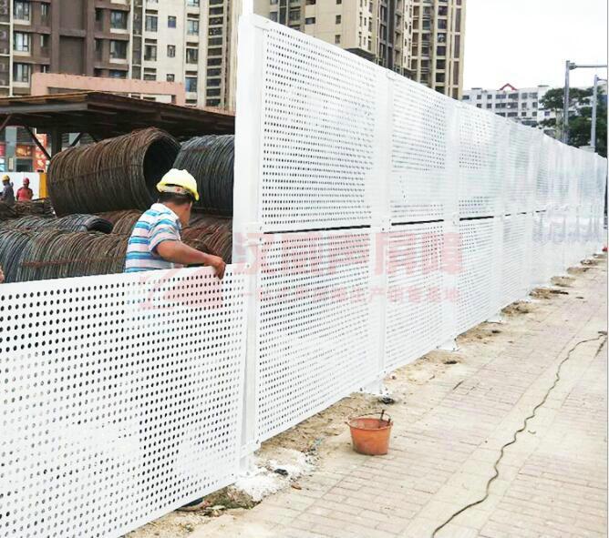 高架橋梁鋁板隔音屏障
