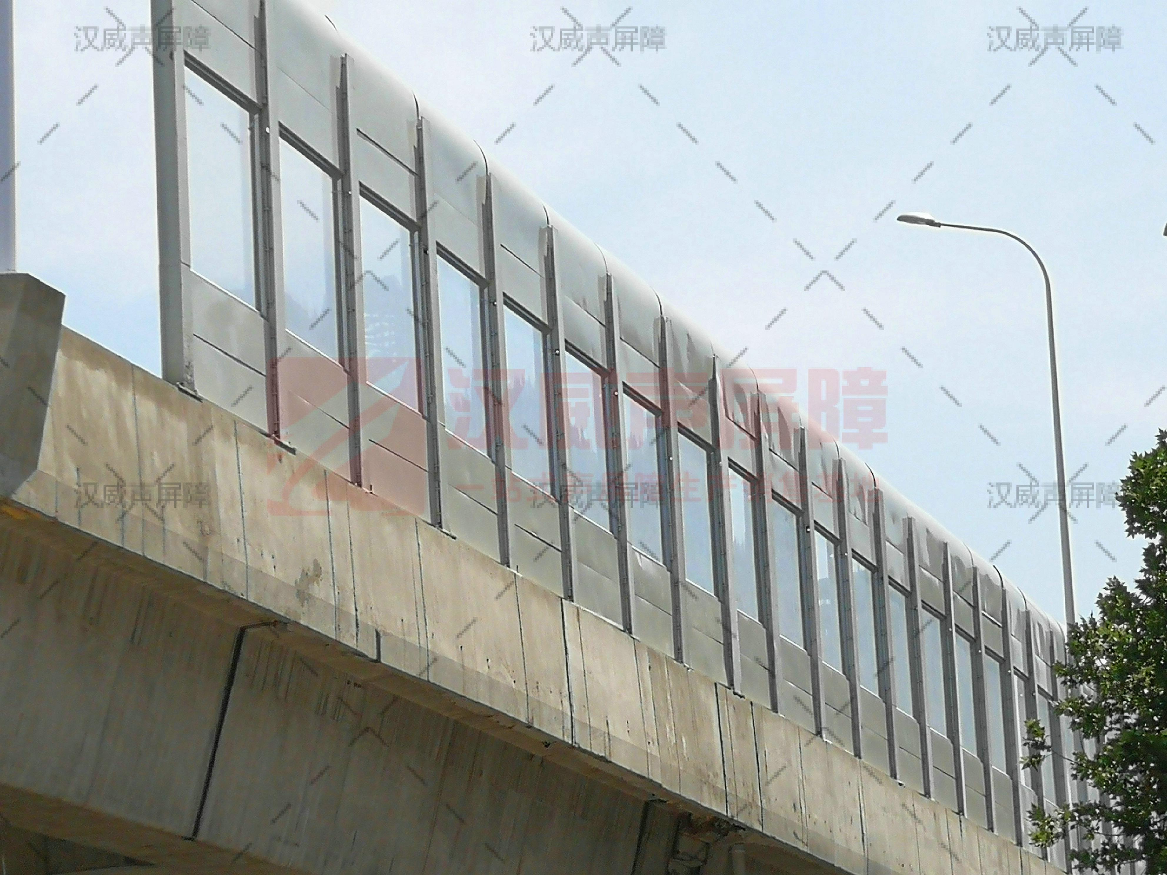 內蒙古通遼快速路組合隔音屏